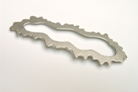 2. Brosche Every cloud has a silver lining 1998 Silber 8cm breit € 165,-